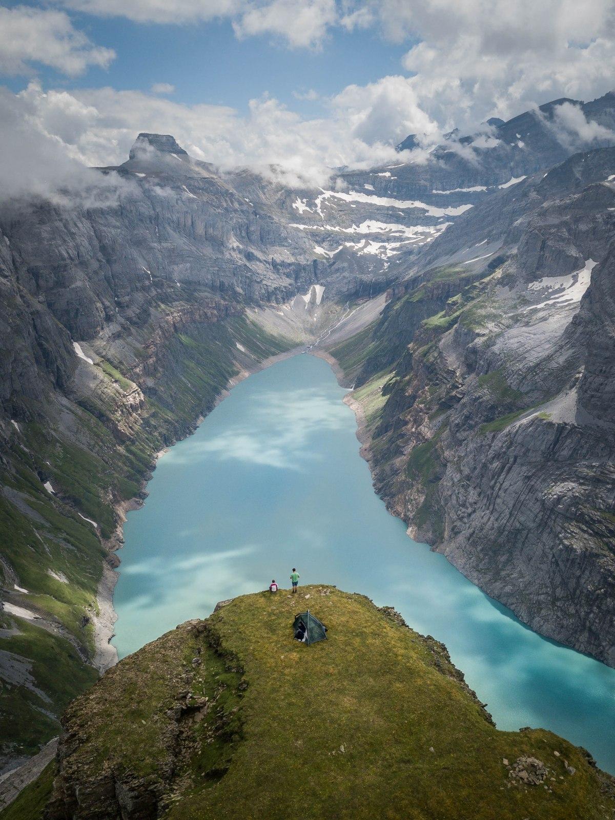Amazing camping spot,Switzerland
